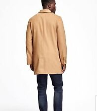 OLD NAVY MEN WOOL BLEND CAMEL TOP COAT SIZE XL