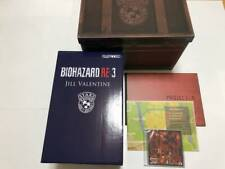 BIOHAZARD Re: 3 COLLECTOR'S EDITION Resident Evil  Sound Track Art book Figure..