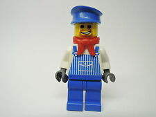 Lego personaje City Train ingeniero Max trn076 rojo pañuelo set 10027 10033 4512