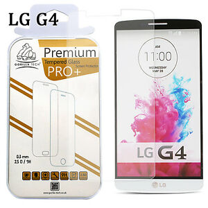 Tempered Glass Film ScratchProof Screen Protector 100% Genuine Gorilla For LG G4