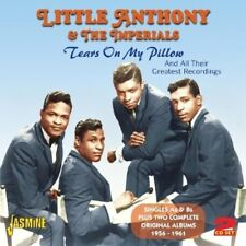 LITTLE ANTHONY & THE IMPERIALS - TEARS ON MY PILLOW 2 CD NEW+