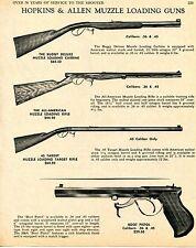 1969 Print Ad Hopkins & Allen Buggy Deluxe All-American 45 Target & Boot Pistol