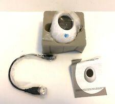 "Digital Photo Viewer Display 1.5"" Screen Oval White Egg Photo Frame USB NIB"