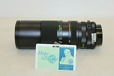 Vivitar Camera Lens - Close Focusing - Auto Zoom / 62mm / 100-300mm, 1:5