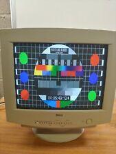 "DELL 15"" 4:3 CRT Monitor Model E551 - 1024 x 768 .28mm - White"