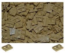 Lego 32028 1X2 avec porte rail TAN 20 Pack Star wars, city, Créateur, Classique