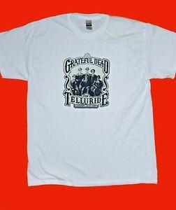 "NEW Grateful Dead in ""Telluride Tour"" t-shirt SIZES S/M/L/XL/2XL"