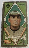 T205 1911 Tobacco Barney Pelty St. Louis Browns Piedmont Factory #25