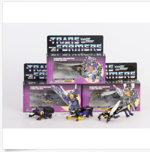 TRANSFORMERS G1 Reissue Insecticons Kickback/Shrapnel/Bombshell Brand New!