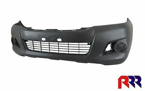 FOR TOYOTA HILUX WORKMATE/SR 2/4WD 6/11-5/15 FRONT BUMPER BAR W/O FLARE HOLE