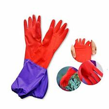 New listing Aquarium Water Change Gloves 19.6 Inches Long, No-Skid Design Keep Hands