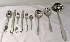 Georg Jensen Mitra 3600 Cutlery Service 75 pcs - Posate Stainless Steel - NEW -