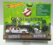 2016 Hot Wheels Ghostbusters ECTO-1 ECTO-2 2 Pack HTF