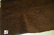 Dark Cocoa Brown Chenille Upholstery Fabric 1 Yard R317