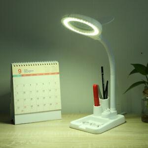 36 LED Lupenleuchte Lupenlampe Tisch Kosmetik Standlupe Mit 5X 10X Lupe Weiß DE