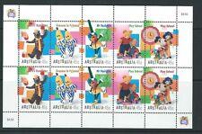 Australia 1999 programmi televisivi per bambini unmounted Nuovo di zecca, SHEETLET Gomma integra, non linguellato