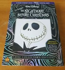 The Nightmare Before Christmas (DVD, 2008, 2-Disc Set, Collectors Edition) NEW