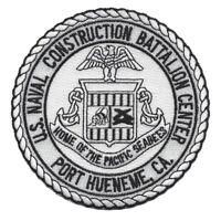 USN NAVAL CONSTRUCTION BATTALION CENTER PORT HUENEME CA PATCH PACIFIC SEABEES