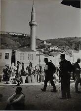 Paul Wolff & Tritschler Vintage Gelatinesilberabzug Serbien Skopje Jugoslawien