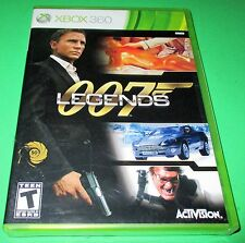 007 Legends Microsoft Xbox 360 *Factory Sealed! *Free Shipping!