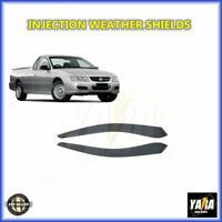INJ Weathershields Window visors for Holden Commodore VT VX VU WH WK WL VY VZ