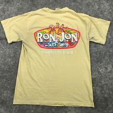 New listing Ron Jon Shirt Mens Medium Yellow Short Sleeve Surf Spellout *