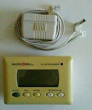 vintage Pacific Bell* Call Waiting Caller Id Display Box with Ac Adapter + Cords