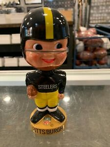 1960'S PITTSBURGH STEELERS BOBBLE HEAD DOLL MINT VERY RARE