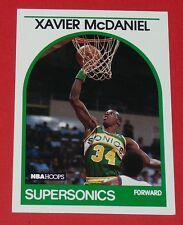 # 70 XAVIER McDANIEL SEATTLE SUPERSONICS 1989 NBA HOOPS BASKETBALL CARD
