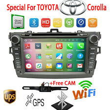 """8""""Android GPS Car Radio DVD Player For Toyota Corolla 2007 2008 2009 2010 2011"""