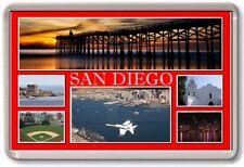 FRIDGE MAGNET - SAN DIEGO - Large - USA TOURIST