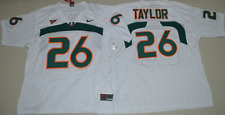 NEW Mens #26 Sean Taylor Jersey Miami Hurricanes College Football Jersey