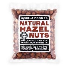 Gorilla Food Co. Natural Hazelnuts Whole Raw - 100g