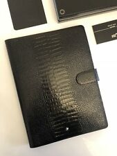 NEU MONTBLANC *MST* A4 Kroko Leder Mappe Notebook Stifthalter NP:1295€ -1529