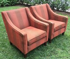 REDUCED - Pair of Mid Century Modern Club Chairs from the Netherlands