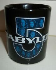 Rare! 1997 Babylon 5 Disappearing Ink ( Crew Image Appears ) Ceramic Mug in Bag