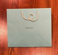 Tiffany Blue gift bag with small blank gift card - small size - LQQK!