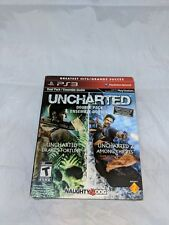 Dual Pack Uncharted & and Uncharted 2 Double Pack Playstation 3 Greatest Hits