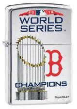 BOSTON RED SOX WORLD SERIES CHAMPIONS 2018 MLB ZIPPO LIGHTER MINT IN BOX