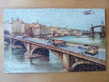 Vintage complete 1934 LONDON HIGHWAYS wooden jigsaw puzzle CHAD VALLEY CP & Co