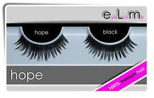 EyeLuv.Me Lashes - False Eyelashes - HOPE - 100% Human Hair Black-New