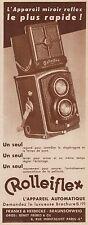 Y8424 ROLLEIFLEX l'appareil automatique - Pubblicità d'epoca - 1934 Old advert