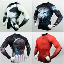 Takefive_Men's Compression Long sleeve Sportswear Animal Made in KOREA 40%off