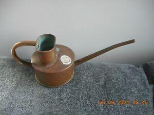 Vintage Haws long reach solid copper watering can, indoor/outdoor garden, bonsai