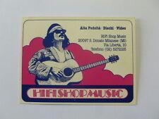 VECCHIO ADESIVO / Old Sticker SANTANA (cm 9 x 7)