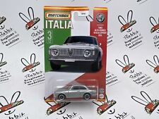 "DIE CAST MATCHBOX "" ALFA ROMEO GIULIA SPRINT GTA 1965 "" SCALA 1/64"