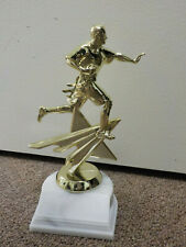 """Flag Football player award or trophy, comes with engraving, about 7.25"""" high"""