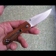 Auténtica...... cuchillo Enlan m011/madera/8cr13mov/Liner-Lock