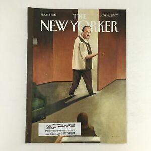 The New Yorker June 4 2007 Full Magazine Theme Cover Tony Soprano rare VG