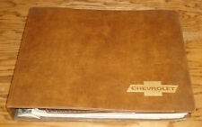 Original 1971 Chevrolet Sales Album Dealer Presentation Book 71 Corvette Camaro